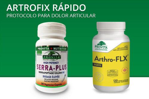 Artrofix Rápido – protocolo para dolor articular