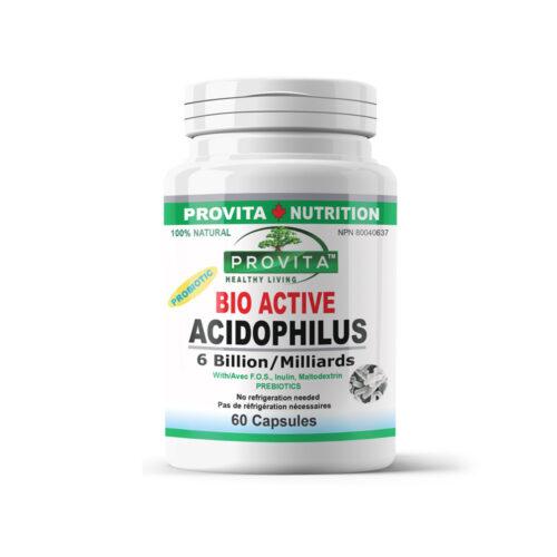 Bio-Active Acidophilus - 60 c.