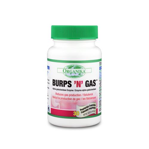 Burps'N'Gas - neutraliza los gases en el estomago