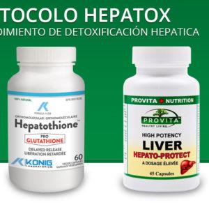 Protocolo Hepatox – procedimiento de detoxificación hepatica