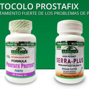 Protocolo Prostafix - un tratamiento fuerte de los problemas de próstata