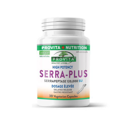Serra Plus - súper enzima proteolitica