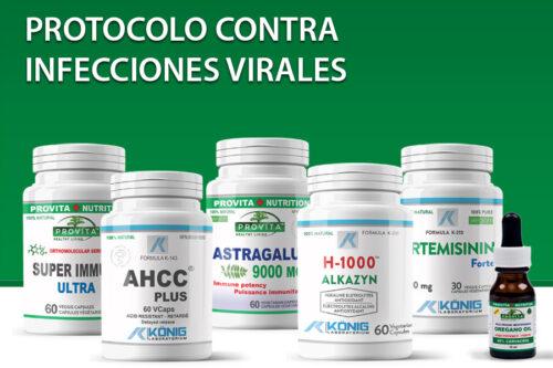 Protocolo contra infecciones virales