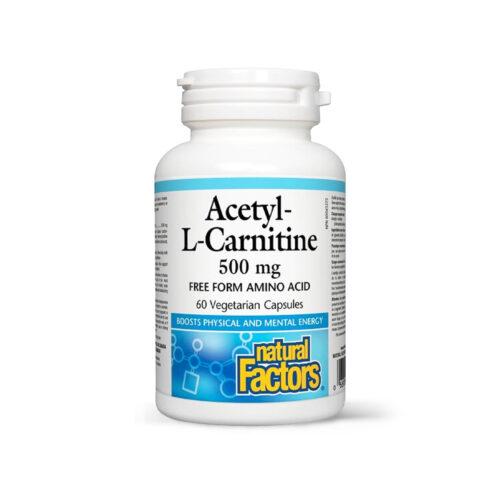 ACETIL-L-CARNITINA 500 MG