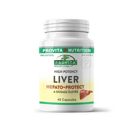 Liver forte hepato-protect – 45 cápsulas