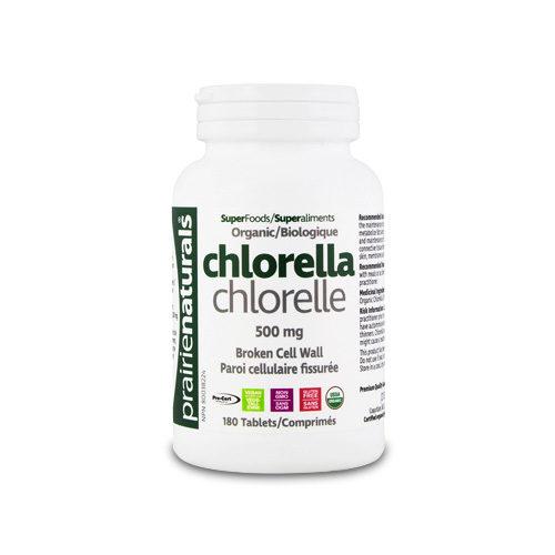Chlorella - 180 tablete - Prairie Naturals