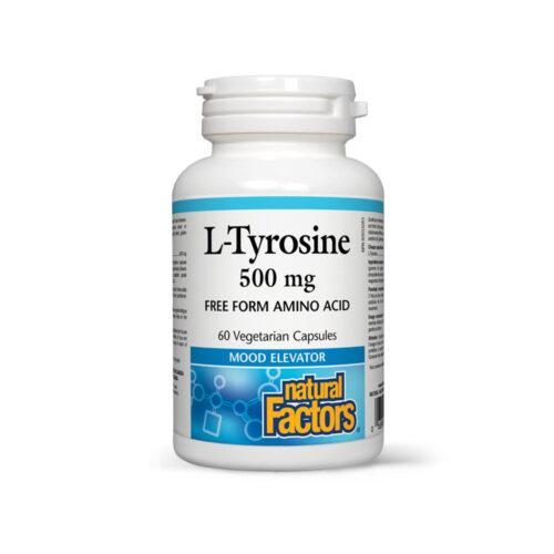 L-TYROSINE 500 MG - PRECURSOR OF THYROXINE, MELANINE