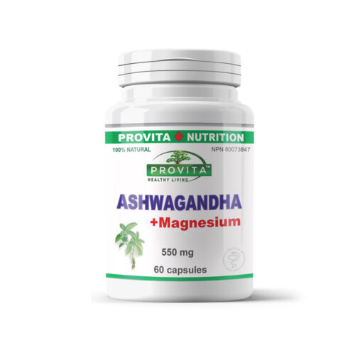 Ashwagandha with Magnesium - calming, revitalizing tonic