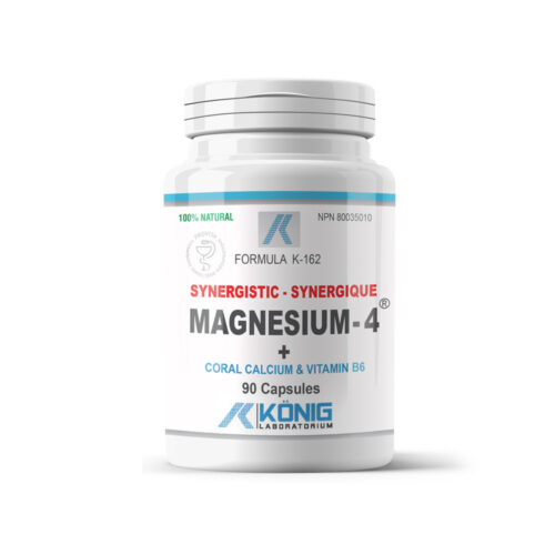 Magnesium-4 - Synergistic magnesium with Coral Calcium and B6 vitamin