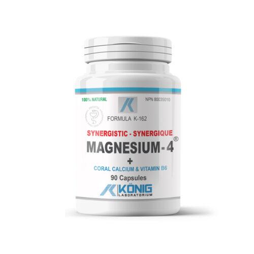 Magnesium-4 - Synergistic magnesium with Coral Calcium and B6 vitamin