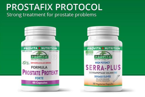 Prostafix Protocol - for prostate problems