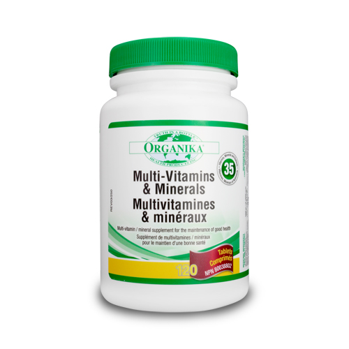 Super Multivitamins, Minerals and Nutrients