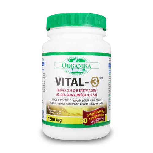 Vital-3 - Omega 3-6-9 Complex