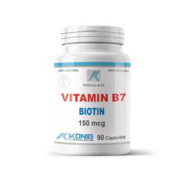 Vitamin B7 Biotin (Vitamin H)