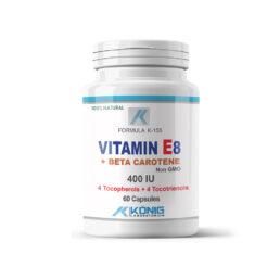 Vitamin E8 Forte 400 UI with Beta Carotene