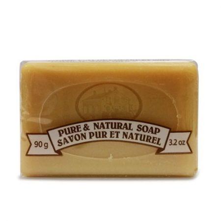 Extra fine therapeutic soap with goat milk + oat + bee honey