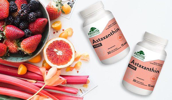Astaxanthin un antioxidant specific cu o arie larga de actiune