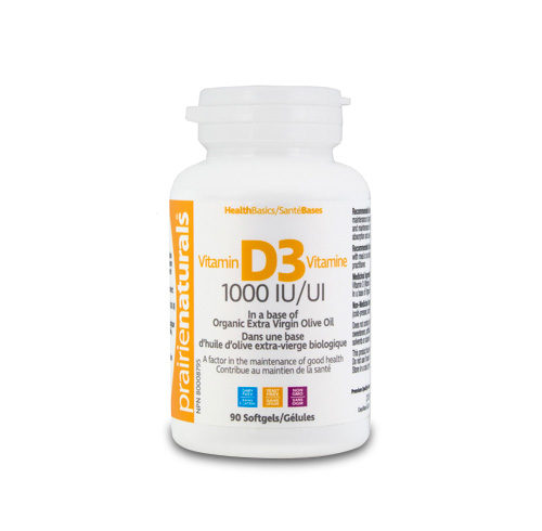 Vitamin D3 - 1000 UI - 90 capsules