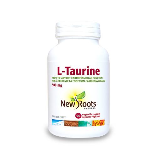 L-Taurine - 500 mg - 90 capsules