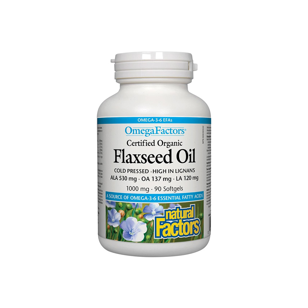 Canadian Flaxseed Oil