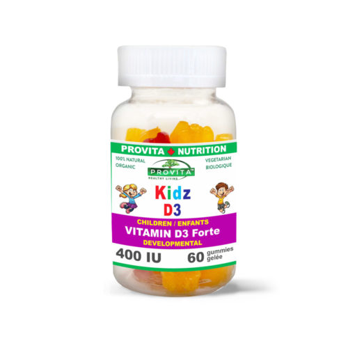 VITAMIN D3 FOR CHILDREN - KIDZ D3 JEWELS
