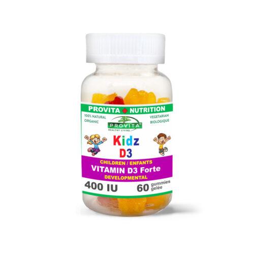 VITAMIN D3 FOR CHILDREN - KIDZ D3 JEWELS