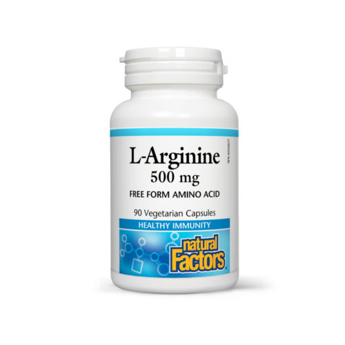 L-ARGININE 500 MG - OFFERS MULTIPLE HEALTH BENEFITS